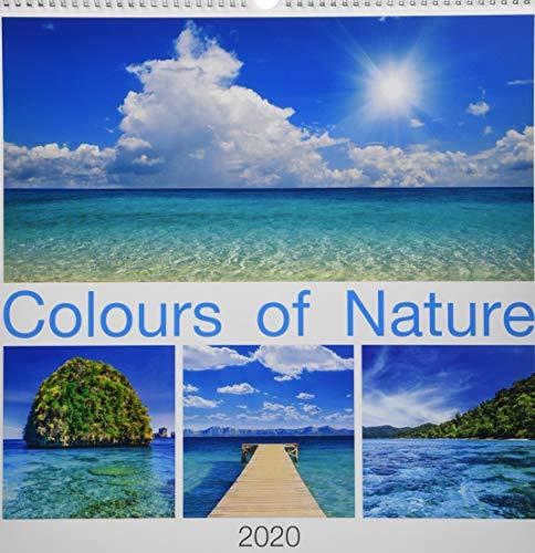 Colours of Nature 2020 - Bildkalender (42 x 42) - Natur - Landschaftskalender - Wandkalender