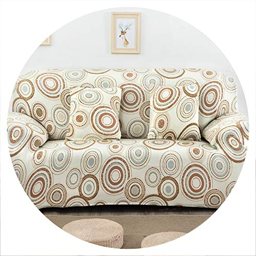 sensitives Universal Stretch Sofa Cover Spandex Polyester Couch Slipcover Sectional Sofa Armchair Furniture Cover Floral Birds Leaves,20,1 Seater