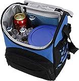 MIER pranzo borse termiche Lunch Box portatile fredda Borsa per uomo e donna, 20 Cans