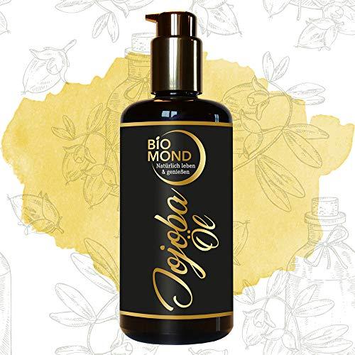 BIO Jojobaöl Hautöl BIOMOND, 200 ml/kalt gepresst/Naturkosmetik/Hautöl/Massageöl