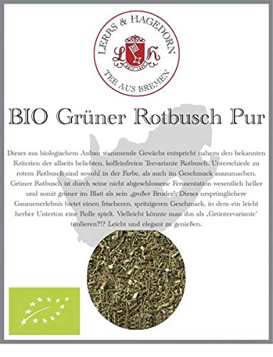 Grüner Rotbusch Pur BIO 1 kg