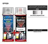 Kit Spray Pintura Coche Aerosol 006 GRIGIO LANZAROTE MET. - Kit de retoque de pintura carrocería en spray 400 ml producido por VerniciSpray