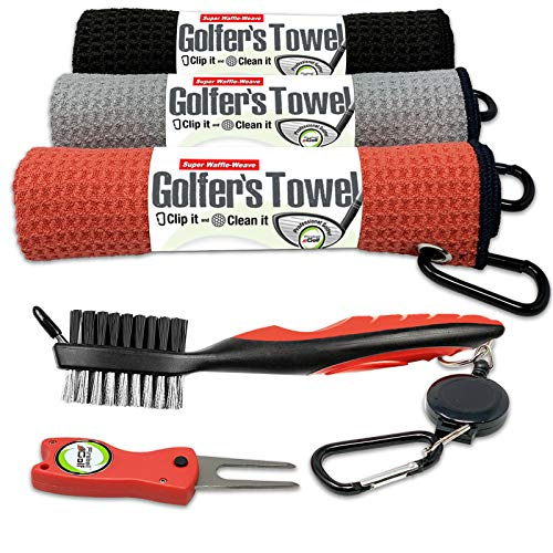 Fireball Golf Towel
