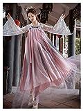 YUNGYE Hanfu - Falda de cintura de estilo chino para mujer, superhada y elegante, estilo antiguo, para camisa de manga grande, disfraz antiguo (color: estilo B, tamaño: S)