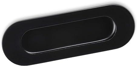 Meubelgreep EL-09 Boorgatafstand 108 mm Zwart mat Infreesgreep van SOTECH