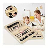 Table Desktop Battle 2 in 1 Ice Hockey Game, Classic Battle Board Games for Ages 7 and Up Adults or Kids Sports Board Game Parent-Child Interactive Game Table Desktop Battles
