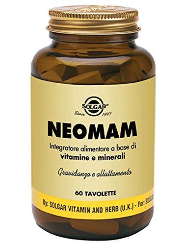 NEOMAM Integratore alimentare a base di Vitamine e Minerali Gravidanza e allattamento