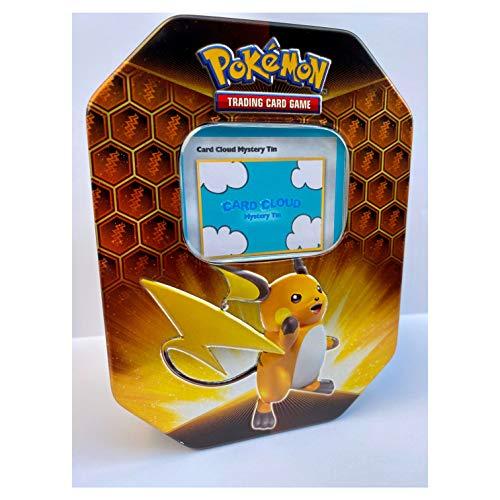 CardCloud Pokemon Mystery Tin Bundle - Includes 80 Pokemon Cards Plus M