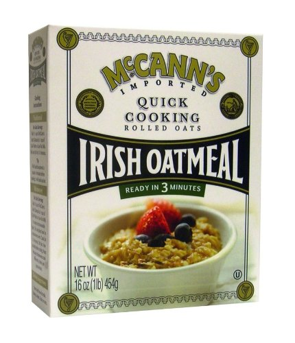 McCANN'S Quick Cooking Irish Oatmeal, 16 Ounce Boxes (Pack of 6)