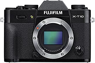 Fujifilm X-T10 Mirrorless Digital Camera (Black Body Only) - International Version (No Warranty)