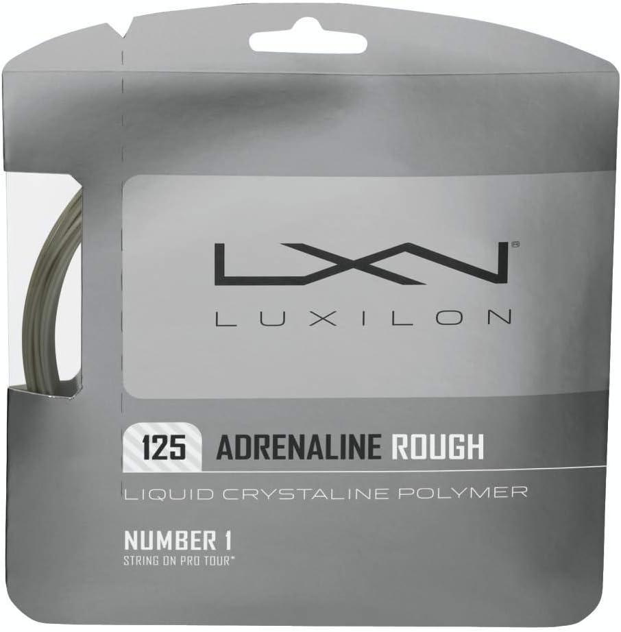 Luxilon Adrenaline shipfree Rough 16 Gauge - Poly Tennis 125 Polyester Regular store