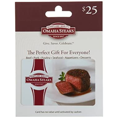 Omaha Steaks Gift Card $25