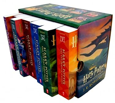 Harry Potter 1-7 Books Complete Collection Box set (J.K. Rowling) (Harry Potter) (Harry Potter Complete) (Harry Potter and The Sorcerer's Stone, The Chamber of Secrets, The Prisoner of Azkaban, The Goblet of Fire, The Order of the Phoenix, The Half Bl