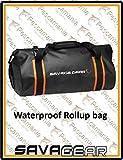 Savage Gear Waterproof Rollup Dry Bag 40 Liter Wasserdichte Tasche schwarz Boat & Bank