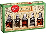 The Great Minds Range 1124 - Set de 5 Juegos de Habilidad