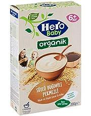 Hero Baby Hero Baby Organik Sütlü Buğdaylı Pekmezli 200G