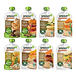Sprout Organic Baby Food Pouches Stage