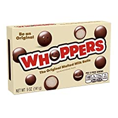 Get the movie theater experience at home with WHOPPERS Malted Milk Balls Delicious with ice cream The Original Malted Milk Ball Kosher