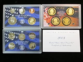2008 S Mint Proof Set 14 Coin Set