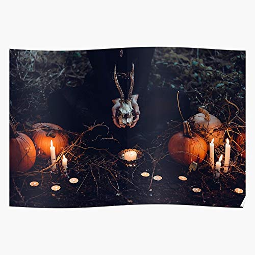 Freshmarque and Halloween2019 Creepy Scary Pumpkin Halloween 2019 Candles The Most Impressive and Stylish Indoor Decoration Poster Available Trending Now