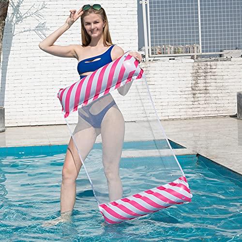 Flotador de piscina para adultos mayores, flotador inflable multiusos (silla, sillón, hamaca, drifter), balsa de verano para piscina color S