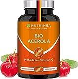 Acerola BIO | Natürliches Vitamin C Hochdosiert 1000mg | Tablette 100% Reines Frucht-Extrakt |...