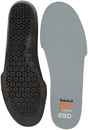 Timberland PRO Fatigue Technology Insole ESD-Einlegesohle mit Anti-Ermüdungs-Technologie, schwarz, Medium
