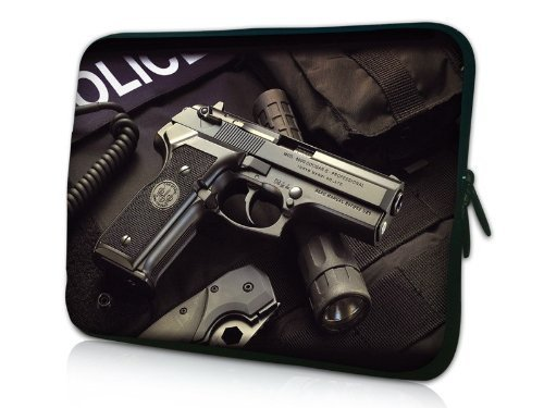 """17"""" Gun Soft Neoprene Laptop Netbook Sleeve Bag Case Pouch For 17.3"""" 17.4"""" Apple Sony Acer Toshiba made by Carillo by N/A (0100-01-01)"""