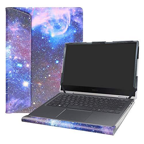 Alapmk Specialmente Progettato PU Custodia Protettiva in Pelle per 13.3' Samsung Notebook 9 PRO NP930MBE Laptop(Non compatibili con:Samsung Notebook 7 Spin 15 NP740U5L NP740U5M),Galaxy