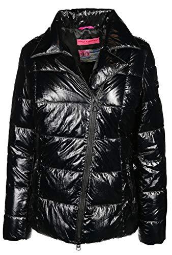 Frieda & Freddies Damen Jacke Größe 40 EU Schwarz (schwarz)