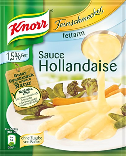 Knorr Feinschmecker Hollandaise fettarm Soße, 1er-Pack (1 x 250 ml)