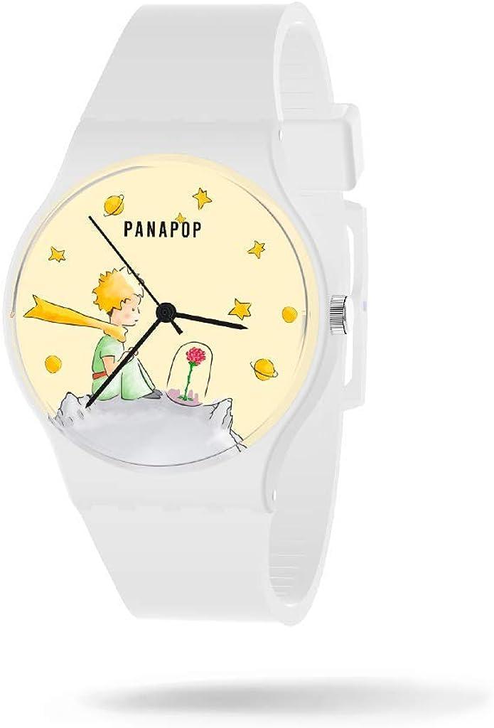 Reloj Mujer Le Petit Prince   Relojes Mujer Pulsera   Reloj Analógico Mujer  Reloj de Mujer Correa Silicona   Relojes para Mujer Resistentes al Agua   Reloj Mujer Muñeca