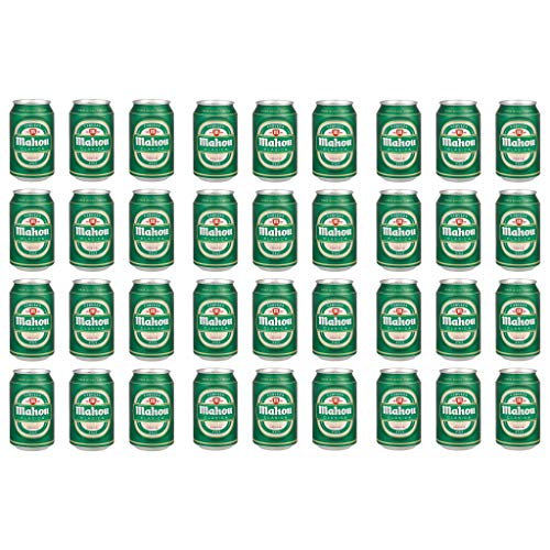 MAHOU CLASICA Bier 4.8% Alkohol. (36 dosen, 0,33 l) Seit 1993 begleitet Mahou Clásica Ihre besonderen Momente. Beer, Sor, Ol, Cerveza, Piwo, Olut, biere der welt, mahou bier, bier set, Bier dosen