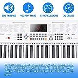 Immagine 1 vangoa tastiera di pianoforte 61