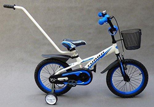 barabike Fahrräder 'Vélo pour enfant 16 garçon de vélo Blanc Bleu