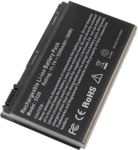 GRAPE32 Reemplazo de la batería del portátil para Acer Extensa 5100 5210...