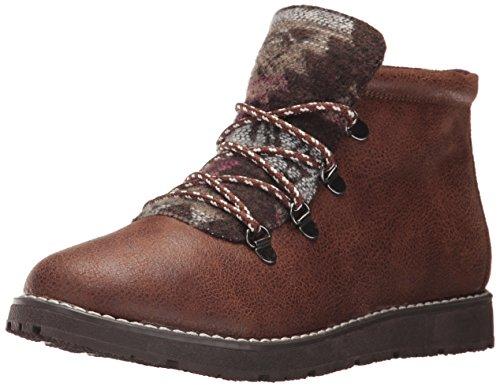 Skechers BOBS Damen Bobs Alpine - Keep Trekking. Aztec Tongue Hiking Boot w memory foam. Wanderstiefel, schokoladenbraun, 37 EU