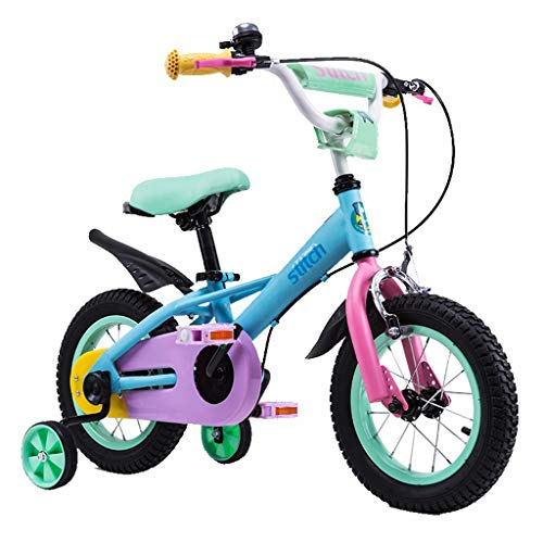 Purchase Kids' Road Bicycles Kids' Balance Bikes Children's Bicycle boy Girl Outdoor Scooter 12/14/16/18 inch Student Bicycle 2-14 Year Old Portable Bicycle (Color : Green, Size : 18in)
