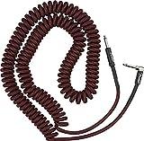 Fender© - Cable de bobina (9 m), color rojo