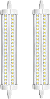 Aluxcia R7S J189 J Type LED Light Bulb - 30W 189mm R7S Double Ended LED Floodlight 300W Halogen Replacement Lamp for Work Light, Security Light, Office Light, Daylight 5000K, 2-Pack