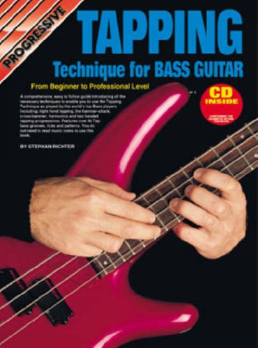 Tapping Bass Guitar Bk/CD: From Beginner to Professional Level