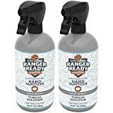 Ranger Ready Alcohol Hand Sanitizer, Trigger Spray, 24 Fl Ounce (Pack of 2)