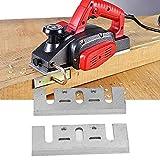 Cuchilla de cepillo eléctrico, Cuchilla de repuesto de cepillo eléctrico, Un par de cuchillas de repuesto de cepillo eléctrico manual HSS para carpintería