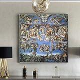 MhY Klassische berühmte Malerei Sixtinische Kapelle von