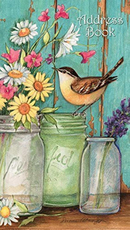 Lang Flower Jars Address Book - Pocket by Susan Winget, Winget, Winget, 4x6.6 (1072027) by Lang B01IPV1PPE | Sehr gute Farbe  d9d7f4