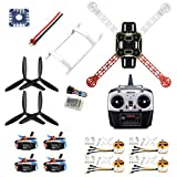 QWinOut F330 MultiCopter Frame Airframe Flame Wheel kit RTF Assembled Kit with 8CH Transmitter Receiver NO Battery Adapter