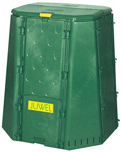 Juwel Premium Komposter Aeroquick 690 (geschlossen, mit Scharnierdeckel und Entnahmeklappe, Nutzinhalt: 700 l) 20158