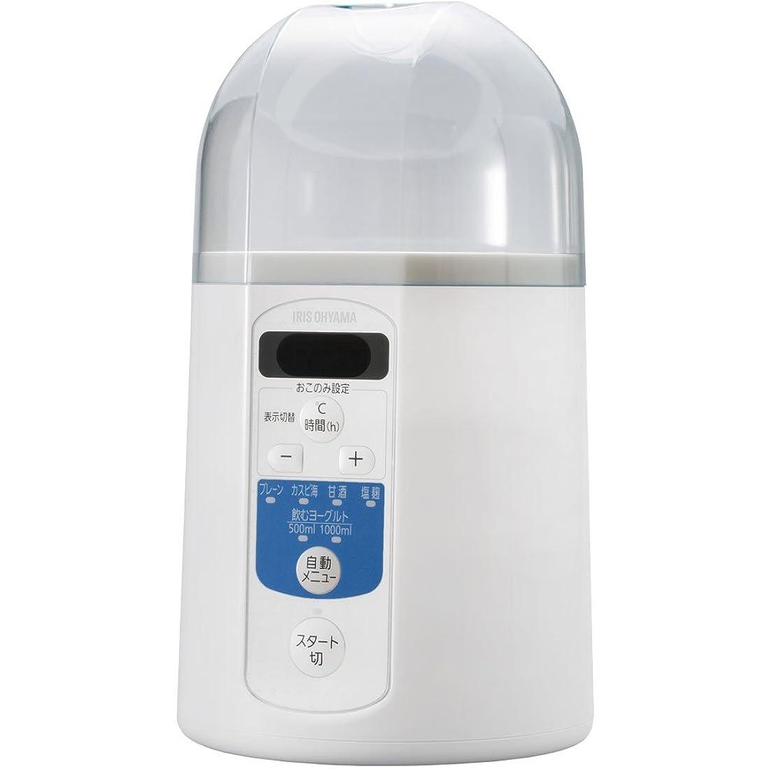 アイリスオーヤマ ヨーグルトメーカー 飲むヨーグルトモード 温度調節機能 付き IYM-013
