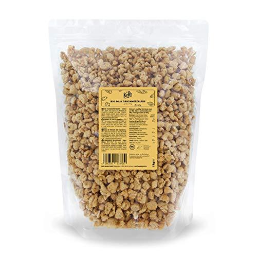 KoRo - Bio - Soja Geschnetzeltes grob - 1 kg - Vorteilspack - Fleischersatz