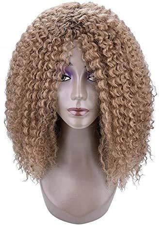 Beyonce Blonde Kanekalon Perücken Für Schwarze Frauen Synthetische Haarfarbe: Braun Gilt für: Stylish Girl of Silk Material: Hochtemperatur-Drahtperücke Kategorie: LIU, LIU Perücke HAA
